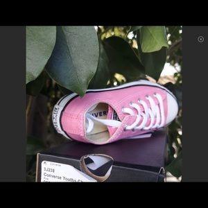 Converse Youth Chuck Taylor All Star Ox Pink